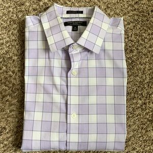 Banana Republic Camden Non-Iron Purple medium